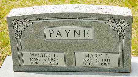 PAYNE, WALTER L - Richland County, Ohio | WALTER L PAYNE - Ohio Gravestone Photos