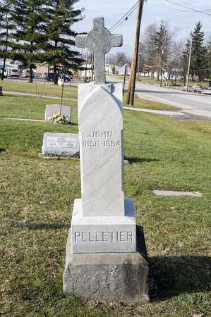 PELLETIER, JOHN - Richland County, Ohio   JOHN PELLETIER - Ohio Gravestone Photos