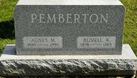 PEMBERTON, RUSSELL K - Richland County, Ohio | RUSSELL K PEMBERTON - Ohio Gravestone Photos