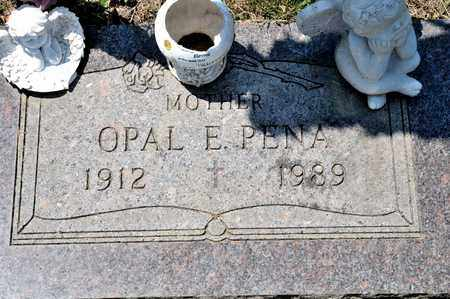 PENA, OPAL E - Richland County, Ohio   OPAL E PENA - Ohio Gravestone Photos