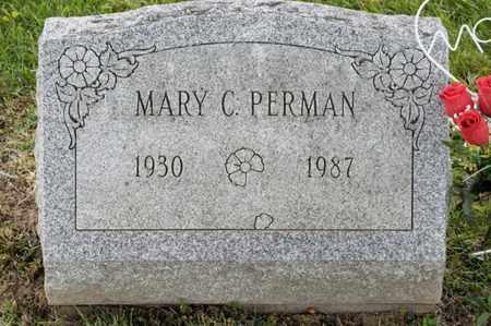 PERMAN, MARY C - Richland County, Ohio   MARY C PERMAN - Ohio Gravestone Photos