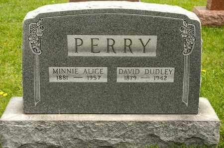 PERRY, MINNIE ALICE - Richland County, Ohio | MINNIE ALICE PERRY - Ohio Gravestone Photos