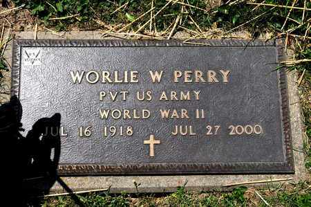 PERRY, WORLIE W - Richland County, Ohio | WORLIE W PERRY - Ohio Gravestone Photos