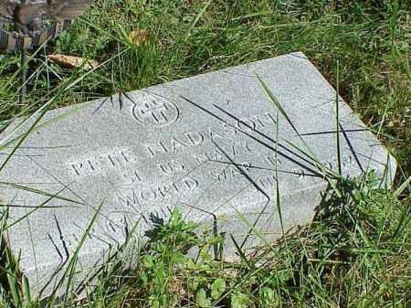 PETE, NADASON - Richland County, Ohio | NADASON PETE - Ohio Gravestone Photos