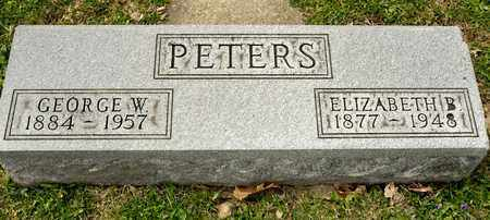 PETERS, GEORGE W - Richland County, Ohio | GEORGE W PETERS - Ohio Gravestone Photos