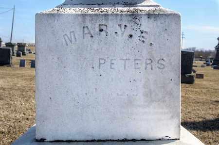 PETERS, MARY E - Richland County, Ohio | MARY E PETERS - Ohio Gravestone Photos