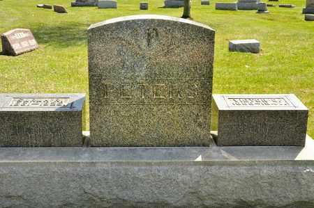 PETERS, VICTOR O - Richland County, Ohio | VICTOR O PETERS - Ohio Gravestone Photos