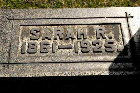 PETERS, SARAH R - Richland County, Ohio | SARAH R PETERS - Ohio Gravestone Photos