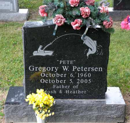 """PETERSEN, GREGORY W """"PETE"""" - Richland County, Ohio 