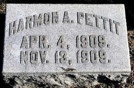 PETTIT, HARMON A - Richland County, Ohio | HARMON A PETTIT - Ohio Gravestone Photos
