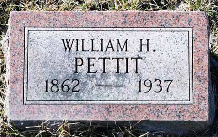 PETTIT, WILLIAM H - Richland County, Ohio | WILLIAM H PETTIT - Ohio Gravestone Photos