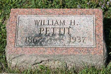 PETTIT, WILLIAM H - Richland County, Ohio   WILLIAM H PETTIT - Ohio Gravestone Photos