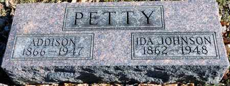 PETTY, ADDISON - Richland County, Ohio | ADDISON PETTY - Ohio Gravestone Photos