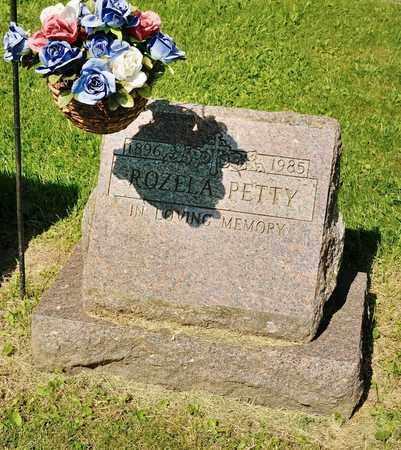 PETTY, ROZELA - Richland County, Ohio | ROZELA PETTY - Ohio Gravestone Photos