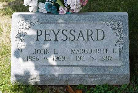 PEYSSARD, MARGUERITE L - Richland County, Ohio   MARGUERITE L PEYSSARD - Ohio Gravestone Photos