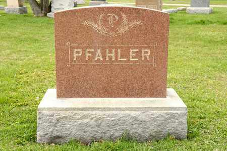 PFAHLER, CLARA M - Richland County, Ohio | CLARA M PFAHLER - Ohio Gravestone Photos