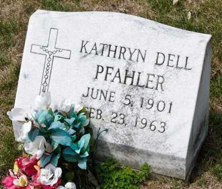 PFAHLER, KATHRYN - Richland County, Ohio   KATHRYN PFAHLER - Ohio Gravestone Photos
