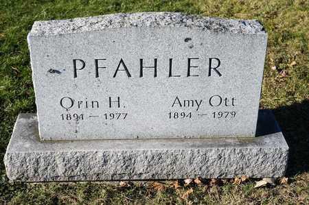 OTT PFAHLER, AMY - Richland County, Ohio | AMY OTT PFAHLER - Ohio Gravestone Photos