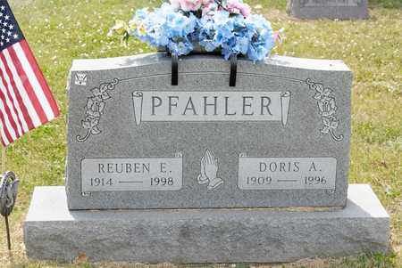PFAHLER, REUBEN E - Richland County, Ohio | REUBEN E PFAHLER - Ohio Gravestone Photos