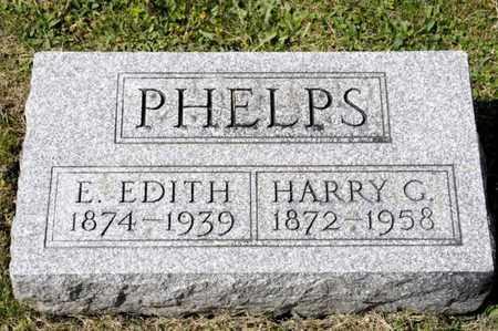 PHELPS, E EDITH - Richland County, Ohio   E EDITH PHELPS - Ohio Gravestone Photos