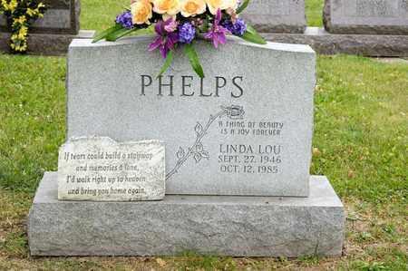PHELPS, LINDA LOU - Richland County, Ohio   LINDA LOU PHELPS - Ohio Gravestone Photos