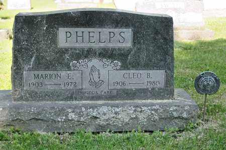 PHELPS, CLEO B - Richland County, Ohio | CLEO B PHELPS - Ohio Gravestone Photos
