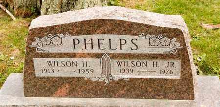 PHELPS JR, WILSON H - Richland County, Ohio | WILSON H PHELPS JR - Ohio Gravestone Photos