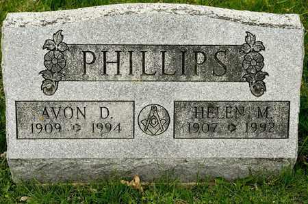 PHILLIPS, AVON D - Richland County, Ohio | AVON D PHILLIPS - Ohio Gravestone Photos