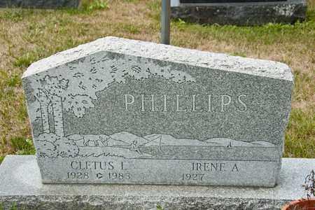 PHILLIPS, CLETUS L - Richland County, Ohio   CLETUS L PHILLIPS - Ohio Gravestone Photos