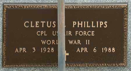 PHILLIPS, CLETUS L - Richland County, Ohio | CLETUS L PHILLIPS - Ohio Gravestone Photos