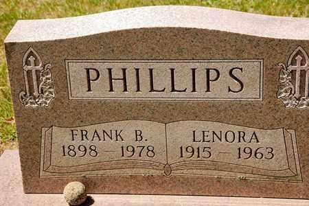 PHILLIPS, LENORA - Richland County, Ohio | LENORA PHILLIPS - Ohio Gravestone Photos