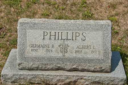 PHILLIPS, GERMAINE R - Richland County, Ohio | GERMAINE R PHILLIPS - Ohio Gravestone Photos
