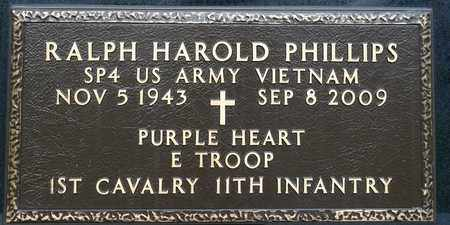 PHILLIPS, RALPH HAROLD - Richland County, Ohio | RALPH HAROLD PHILLIPS - Ohio Gravestone Photos