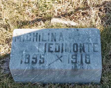 PIEDIMONTE, MICHILINA - Richland County, Ohio | MICHILINA PIEDIMONTE - Ohio Gravestone Photos