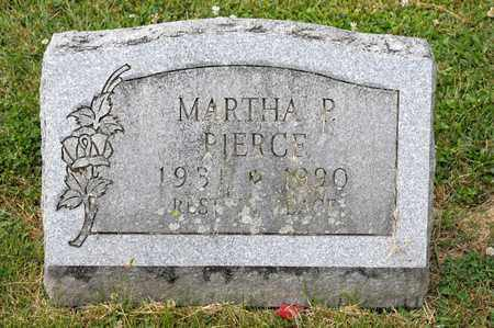 PIERCE, MARTHA P - Richland County, Ohio   MARTHA P PIERCE - Ohio Gravestone Photos