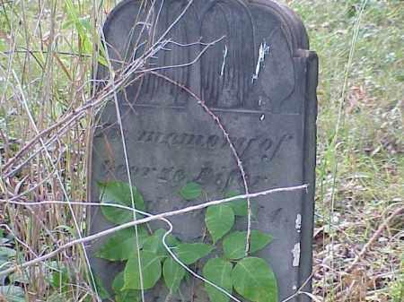 PIFER, GEORGE - Richland County, Ohio | GEORGE PIFER - Ohio Gravestone Photos