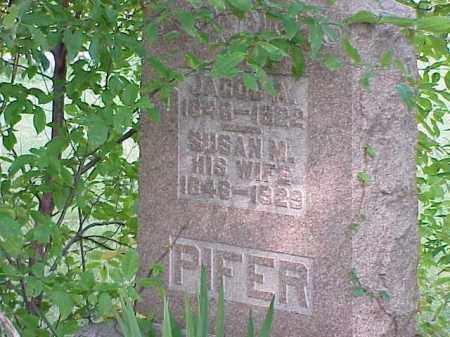 PIFER, JACOB A. - Richland County, Ohio | JACOB A. PIFER - Ohio Gravestone Photos