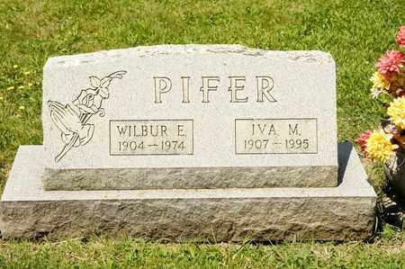 PIFER, WILBUR E - Richland County, Ohio | WILBUR E PIFER - Ohio Gravestone Photos