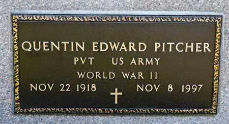 PITCHER, QUENTIN EDWARD - Richland County, Ohio | QUENTIN EDWARD PITCHER - Ohio Gravestone Photos