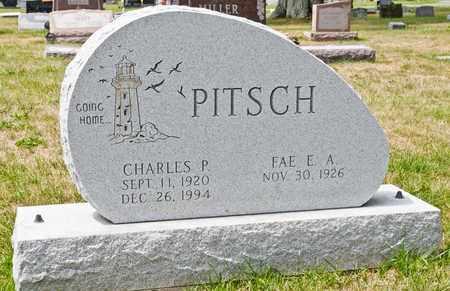 PITSCH, CHARLES P - Richland County, Ohio   CHARLES P PITSCH - Ohio Gravestone Photos