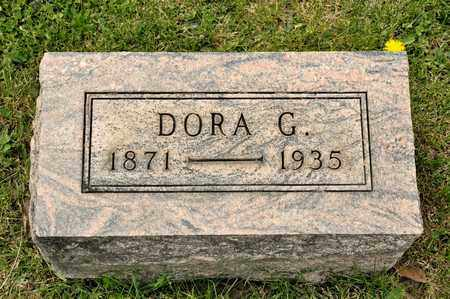 PITTENGER, DORA G - Richland County, Ohio | DORA G PITTENGER - Ohio Gravestone Photos