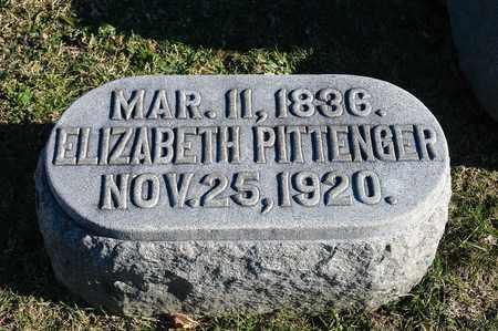 PITTENGER, ELIZABETH - Richland County, Ohio | ELIZABETH PITTENGER - Ohio Gravestone Photos