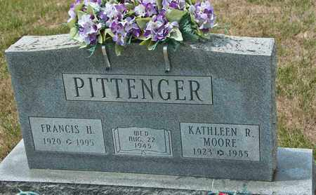 PITTENGER, FRANCIS H - Richland County, Ohio | FRANCIS H PITTENGER - Ohio Gravestone Photos