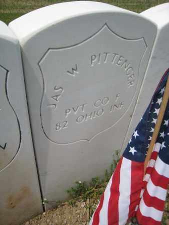 PITTENGER, JAS W - Richland County, Ohio | JAS W PITTENGER - Ohio Gravestone Photos