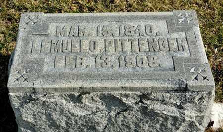 PITTENGER, LEMUEL O - Richland County, Ohio | LEMUEL O PITTENGER - Ohio Gravestone Photos