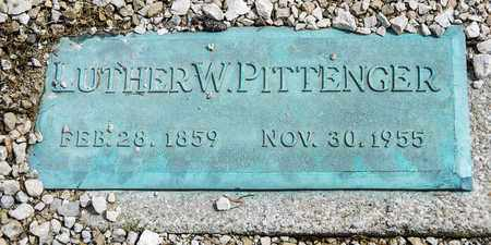 PITTENGER, LUTHER W - Richland County, Ohio | LUTHER W PITTENGER - Ohio Gravestone Photos