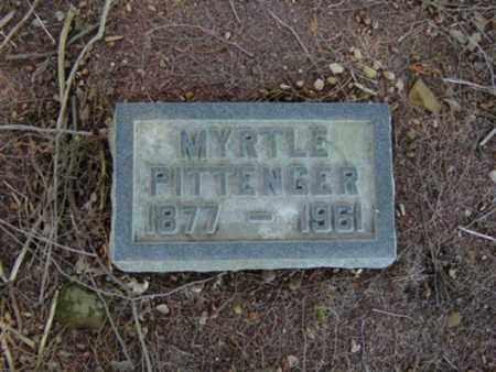 PITTENGER, MYRTLE - Richland County, Ohio | MYRTLE PITTENGER - Ohio Gravestone Photos