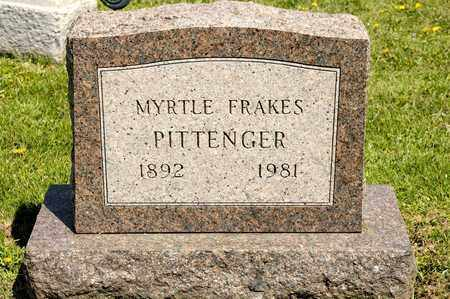 FRAKES PITTENGER, MYRTLE - Richland County, Ohio | MYRTLE FRAKES PITTENGER - Ohio Gravestone Photos