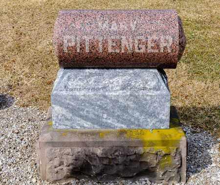 PITTENGER, MARY - Richland County, Ohio | MARY PITTENGER - Ohio Gravestone Photos