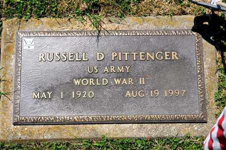 PITTENGER, RUSSELL D - Richland County, Ohio | RUSSELL D PITTENGER - Ohio Gravestone Photos